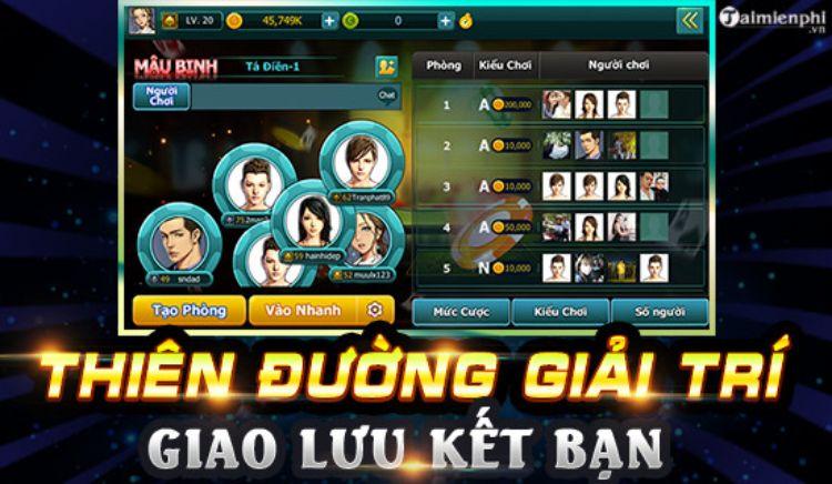 game bài mậu binh miễn phí